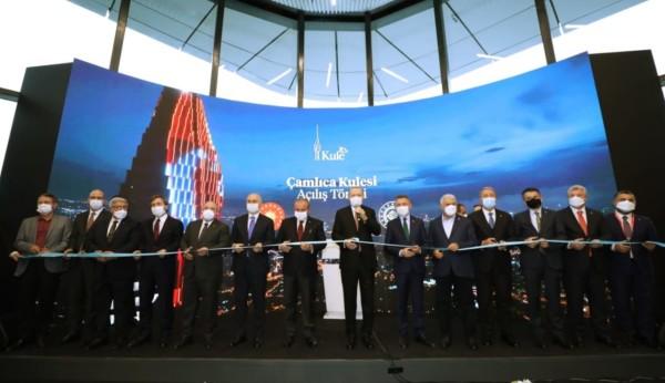 Avrupanın En Yüksek Kulesi, Çamlıca Kulesi Açıldı
