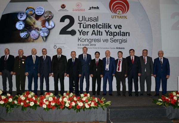 AYGM Tünelcilik ve  Yer Altı Yapıları Kongresine Katıldı