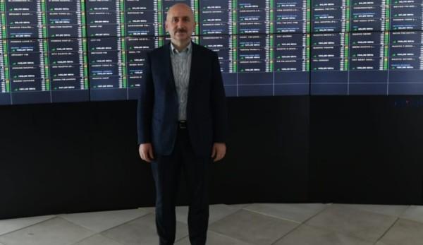 Bakanımız Sayın Adil Karaismailoğlu Küçük Çamlıca Tv Radyo Kulesi'ndeki Çalışmaları İnceledi