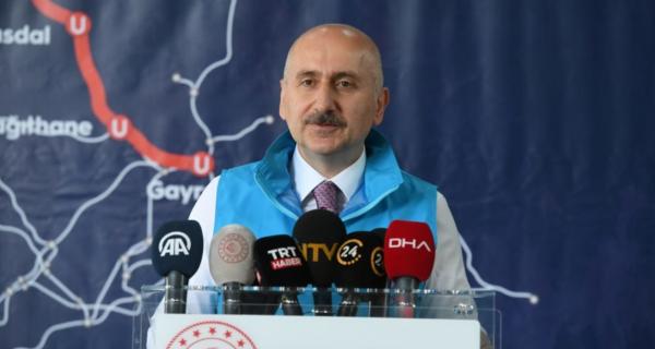 Halkalı Gayrettepe Hatlarımız, İstanbul'un En Hızlı Metroları Olacak