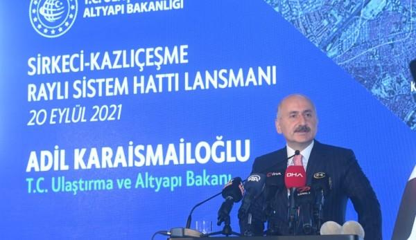 Kazlıçeşme - Sirkeci Raylı Sistem Hattı İstanbul'a Değer Katacak