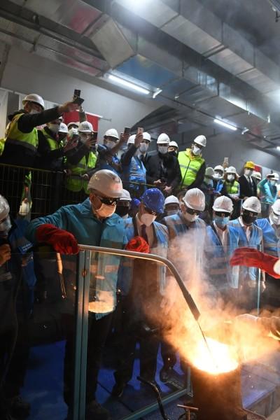 Sabiha-Gökçen Havalimanı Metro Hattı Projesinde İlk Ray Kaynak Töreni Gerçekleşti